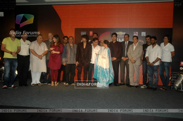 Over 100 Indian musicians converge for the Chevrolet GIMA Awards 2011 Voting Meet