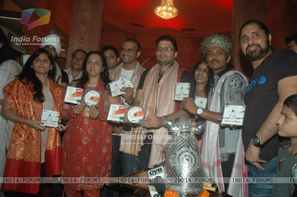 Singers join together for Ganesha album for 3rd rock entertainment at Provogue lounge and Andheri Ka Raja. .