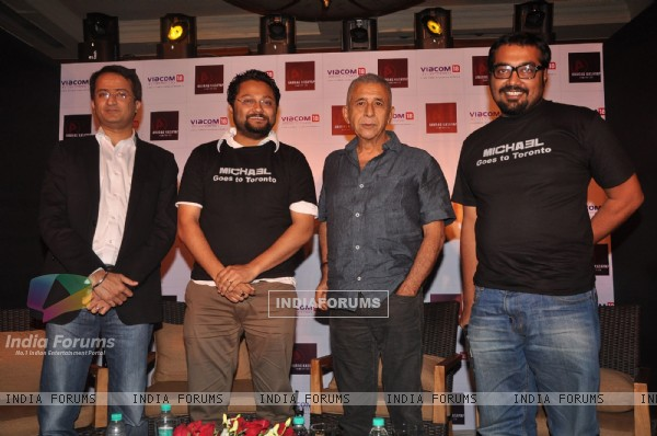 Naseeruddin Shah and Anurag Kashyap launch Michael first look in Mumbai