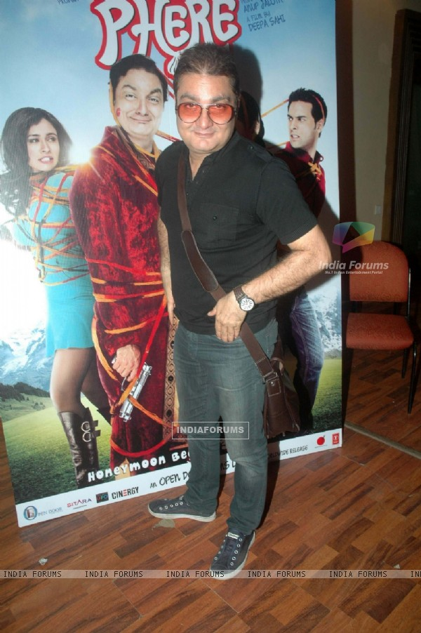 Vinay Pathak at 'Tere Mere Phere' film promotional event