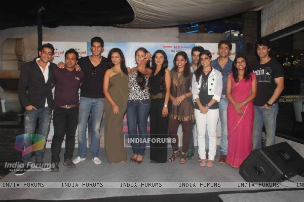 Entire Team at Ritz Jee Le Ye Pal press meet, Vie Lounge