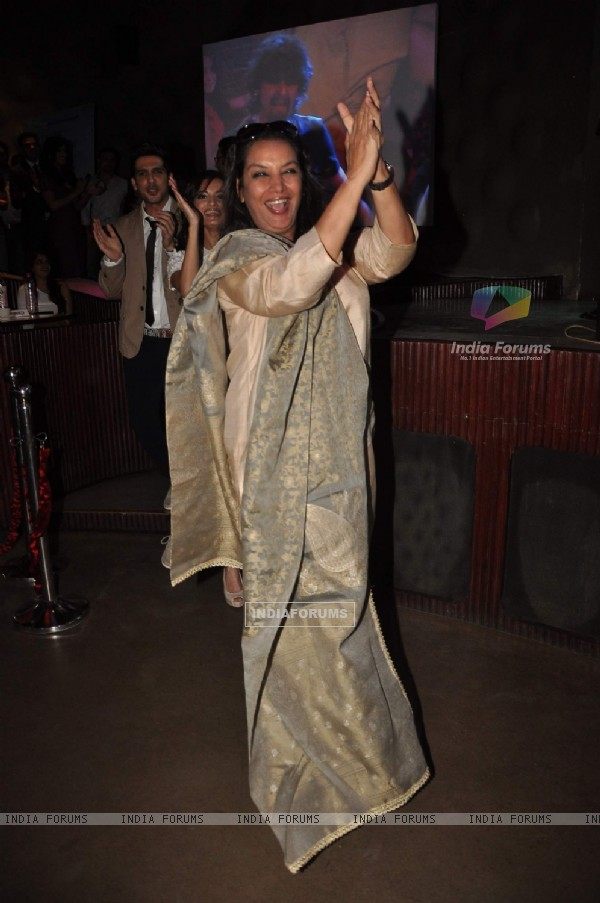 Shabana Azmi at Love Breakups Zindagi music launch at Blue Frog in Mumbai