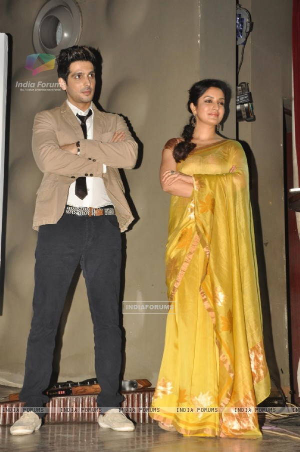 Zayed Khan and Tisca Chopra at Music launch of film 'Love Breakups Zindagi' in Mumbai