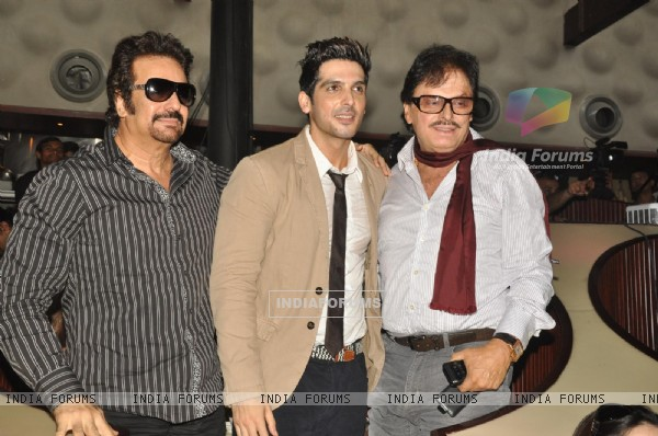Zayed with Sanjay Khan at Music launch of film 'Love Breakups Zindagi' in Mumbai