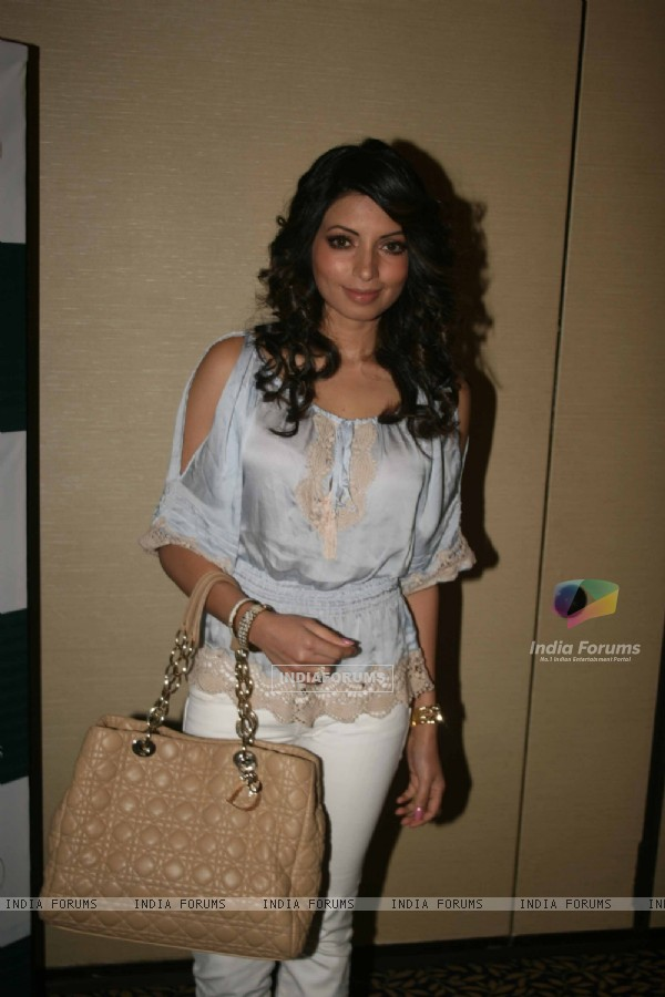 Shama Sikander grace the WLC Chimera fashion show at Leela Hotel
