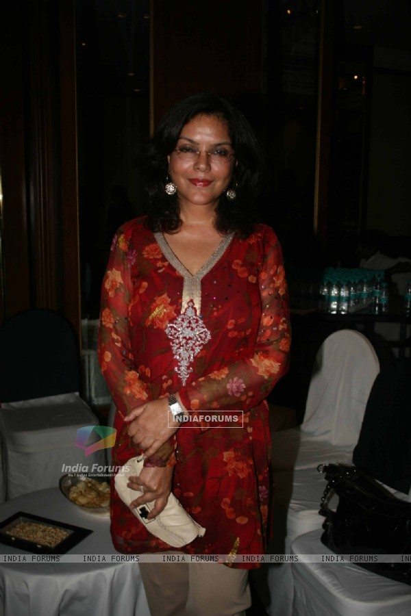 Zeenat Aman grace the WLC Chimera fashion show at Leela Hotel