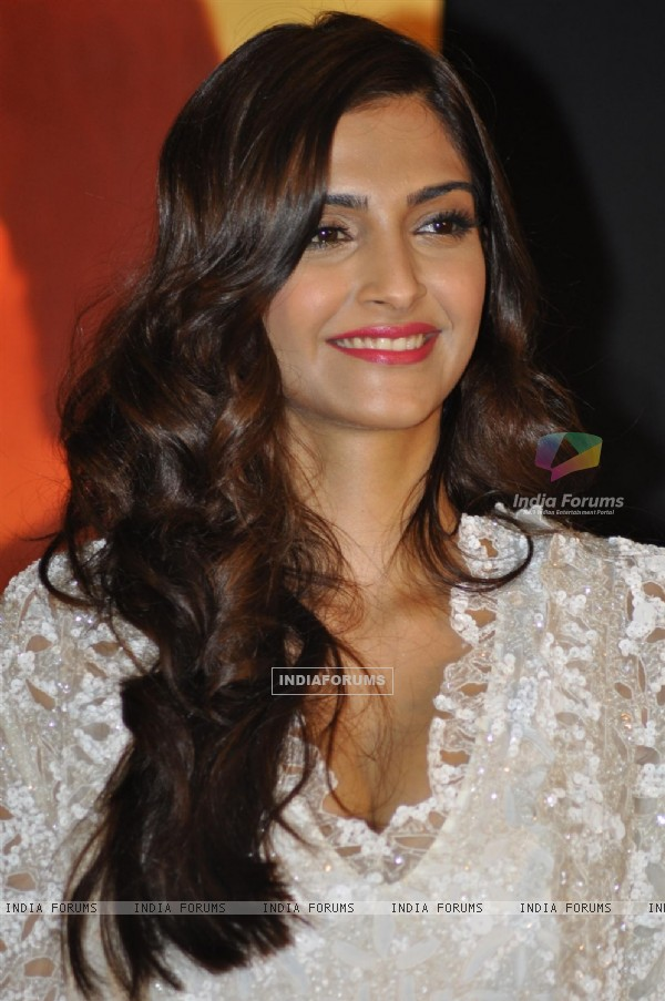 Sonam Kapoor at Music success party of film 'Mausam' at Hotel JW Marriott in Juhu, Mumbai (158145)