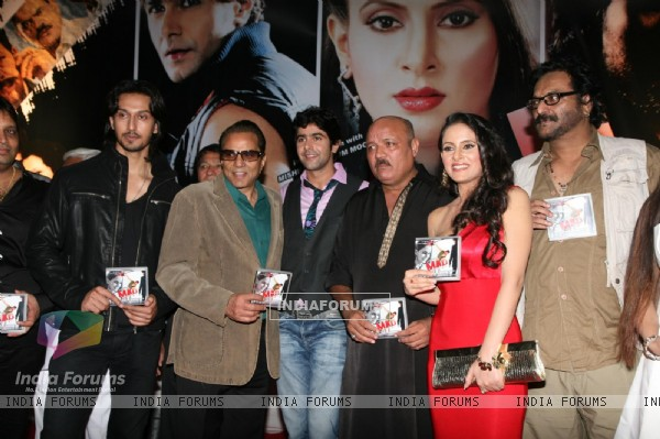 Dharmendra at MAD film music launch at Andheri in Mumbai