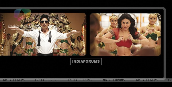 Shah Rukh and Kareena in Ra.One movie (158777)