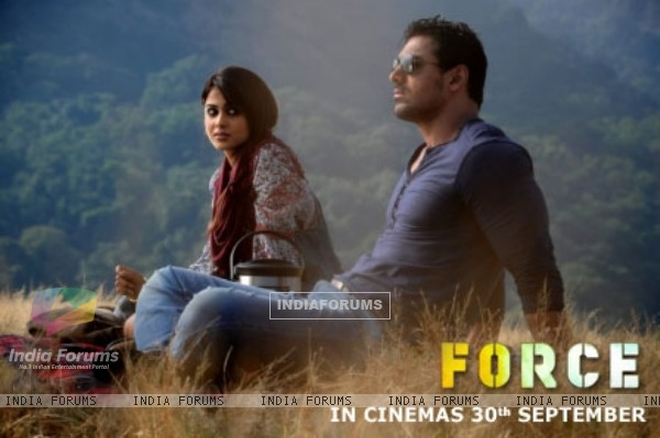 John and Genelia in the movie Force (158784)