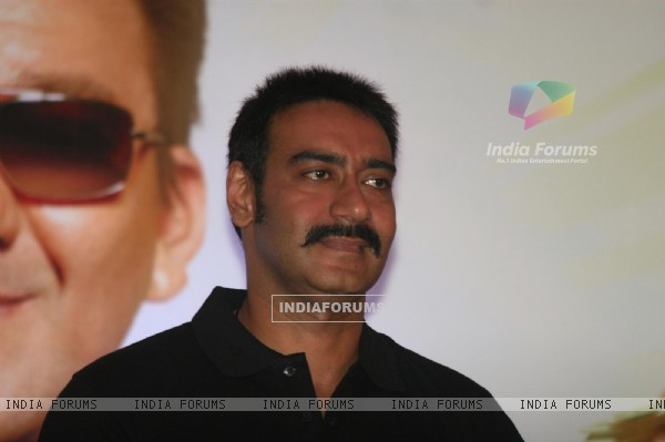 Ajay Devgn at Film 'Rascals' music launch at Hotel Leela in Mumbai