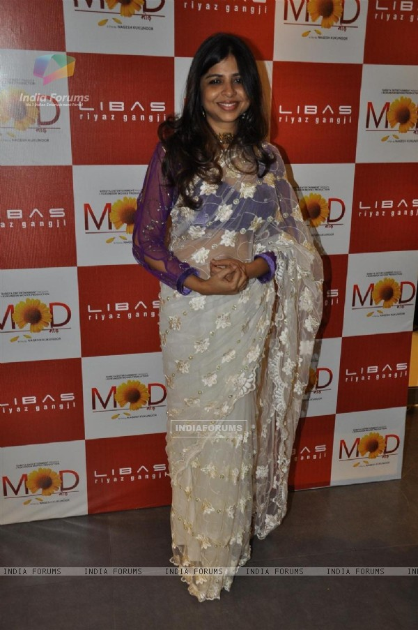 Film 'Mod' with unveiling clothes collection designer by Riyaz Gangji
