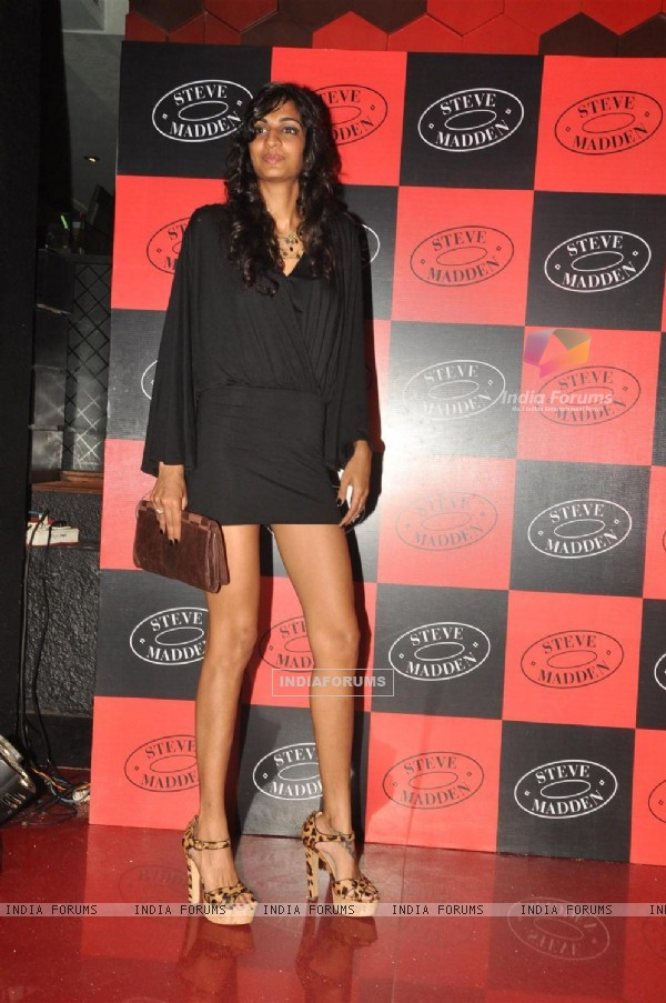 Anushka Manchanda at Steve Madden Iconic Footwear brand launching party at Trilogy