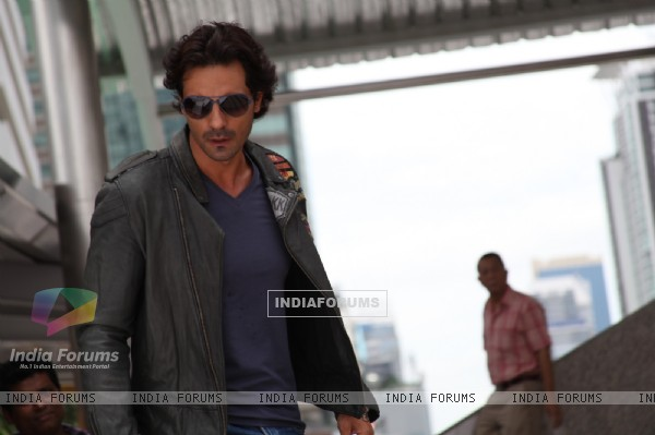 Arjun Rampal in the movie Rascals