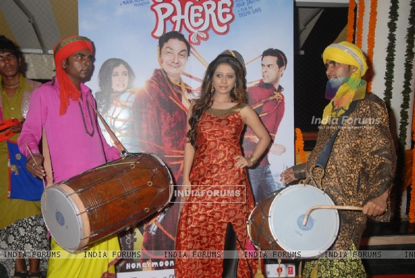 Natashamohan Sharma at Music launch of movie 'Tere Mere Phere'