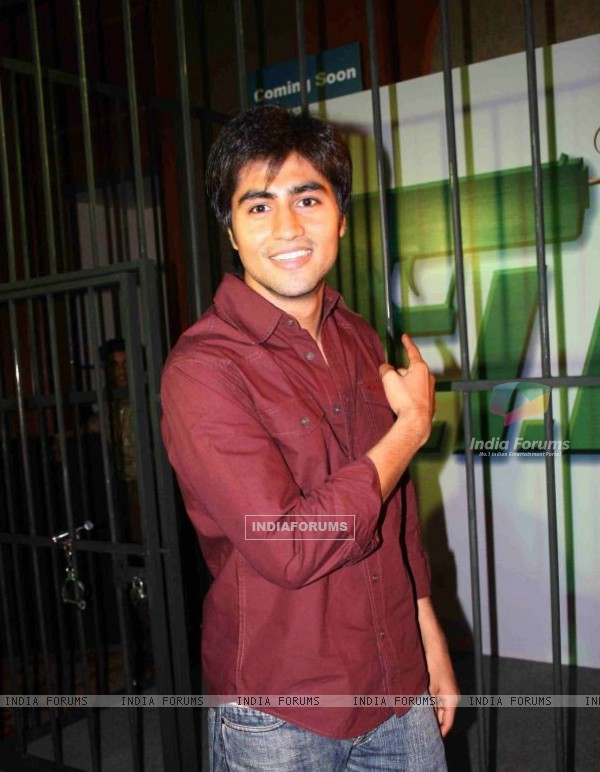 Harshad Chopra during the success party of Left Right Left