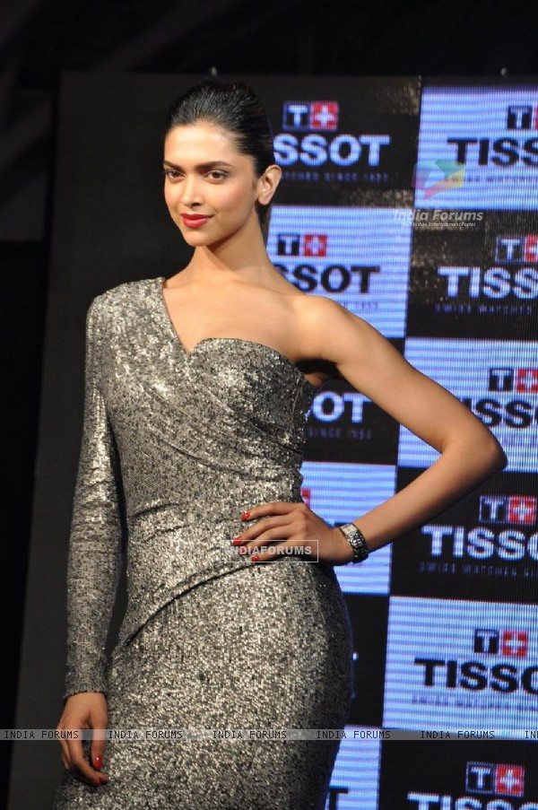 Deepika Padukone launches ladies collection of Tissot watches
