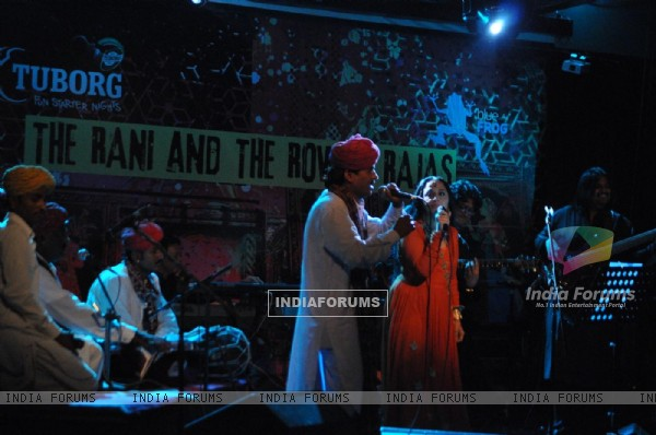 Ila Arun live performence for Rajsthani 'The Rani and The Rowady Rajas' at Blue Frog