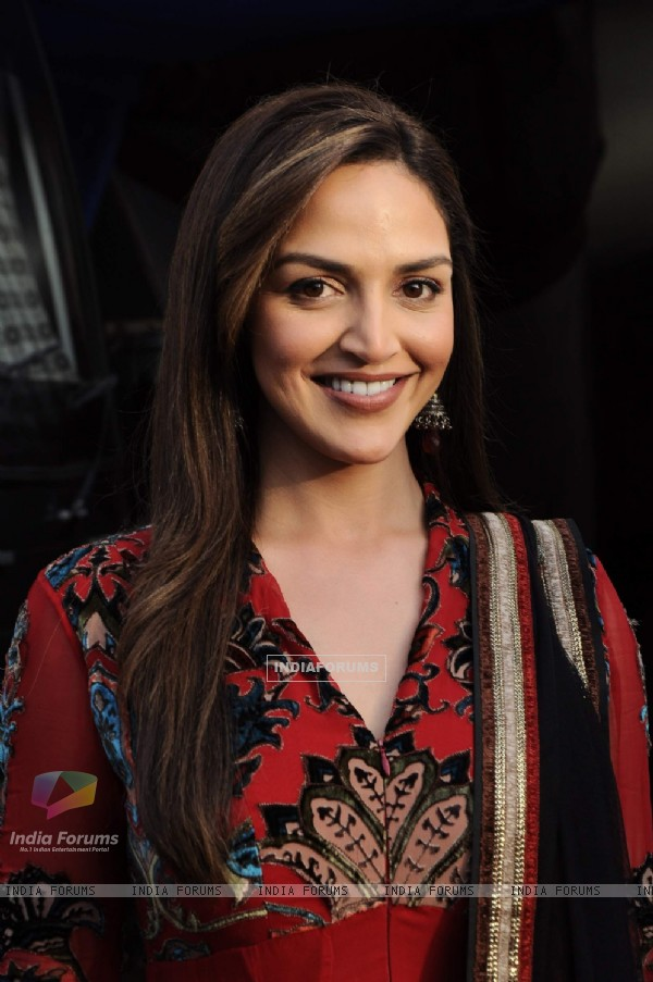 Esha Deol on the sets of India's Got Talent at Filmcity