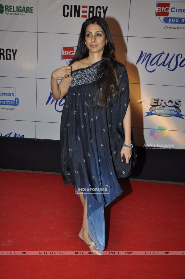 Tabu at premiere of film MAUSAM at Imax, Wadala in Mumbai (160462)
