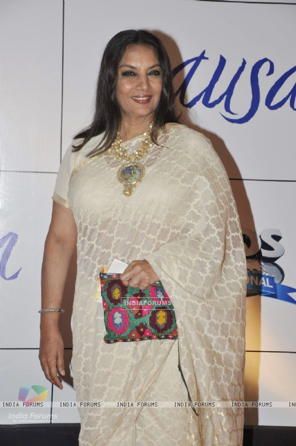Shabana Azmi at premiere of film MAUSAM at Imax, Wadala in Mumbai (160463)
