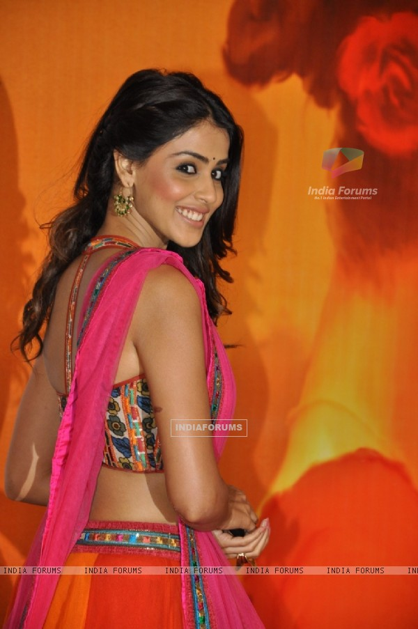 Genelia D'Souza at Premiere of film 'Mausam' at Imax, Wadala in Mumbai