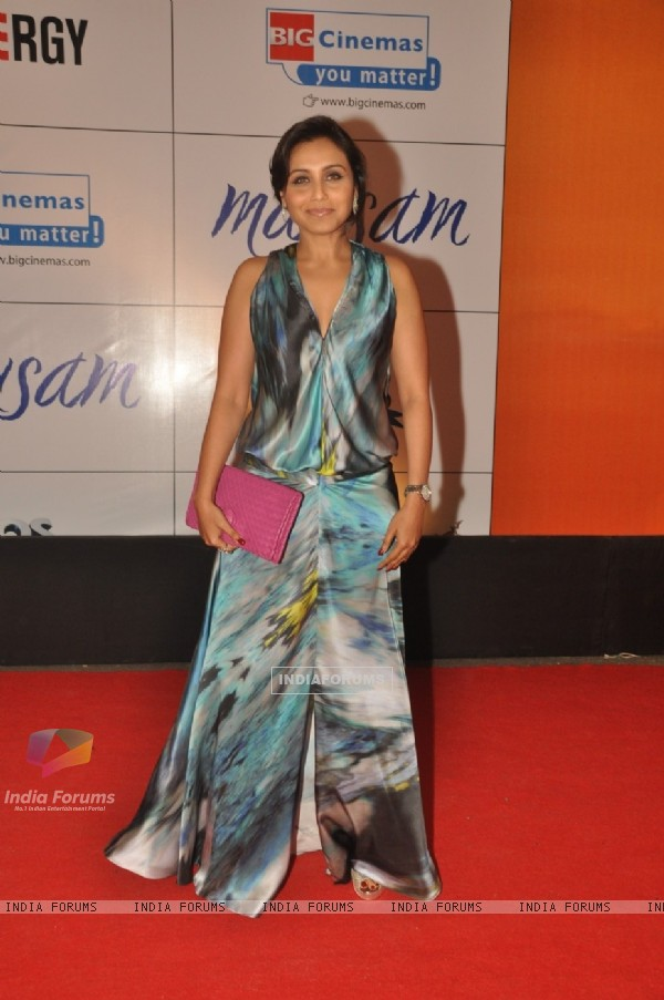 Rani Mukherjee at Premiere of film 'Mausam' at Imax, Wadala in Mumbai (160553)