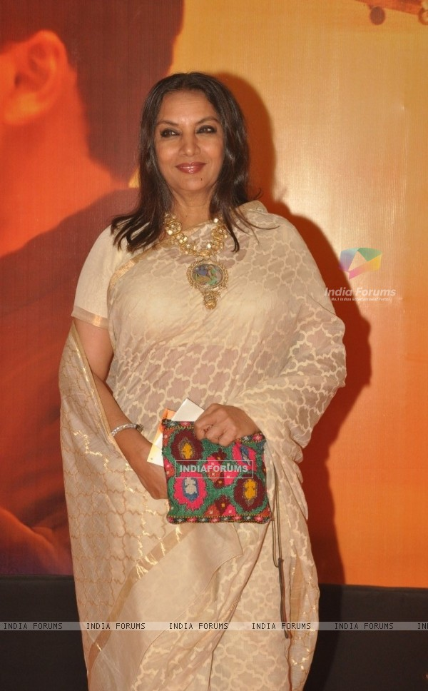 Shabana Azmi at Premiere of film 'Mausam' at Imax, Wadala in Mumbai (160555)