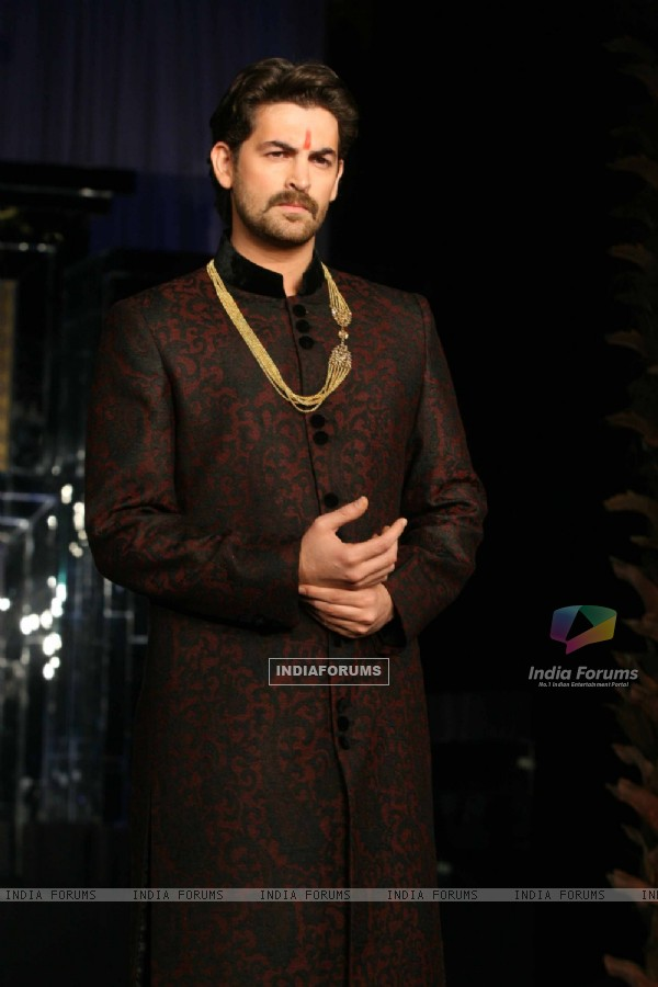 Neil Nitin Mukesh walks the ramp for Vikram Phadnis at Aamby Valley City India Bridal Week 2011 Day 1 at Saharastar, Mumbai
