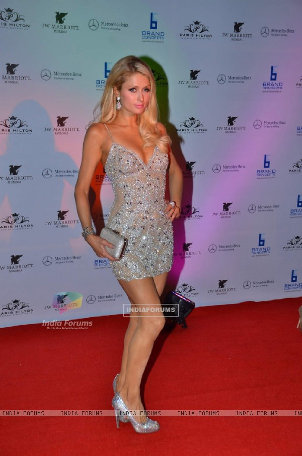 Paris Hilton party bash at Enigma in Hotel JW Marriott, Juhu, Mumbai