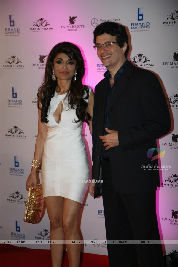 Queenie Dhody at Paris Hilton party bash at Enigma in Hotel JW Marriott, Juhu, Mumbai