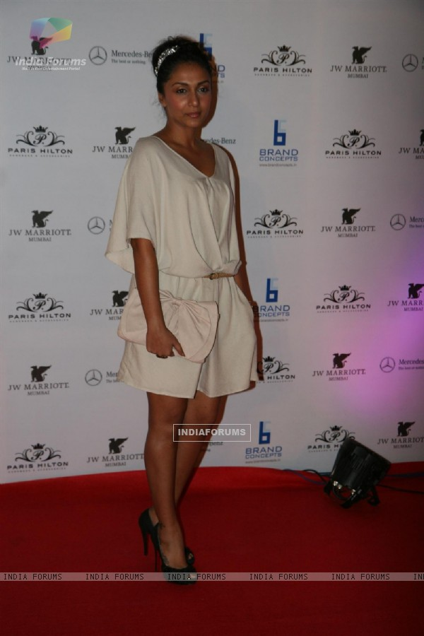 Shveta Salve at Paris Hilton party bash at Enigma in Hotel JW Marriott, Juhu, Mumbai