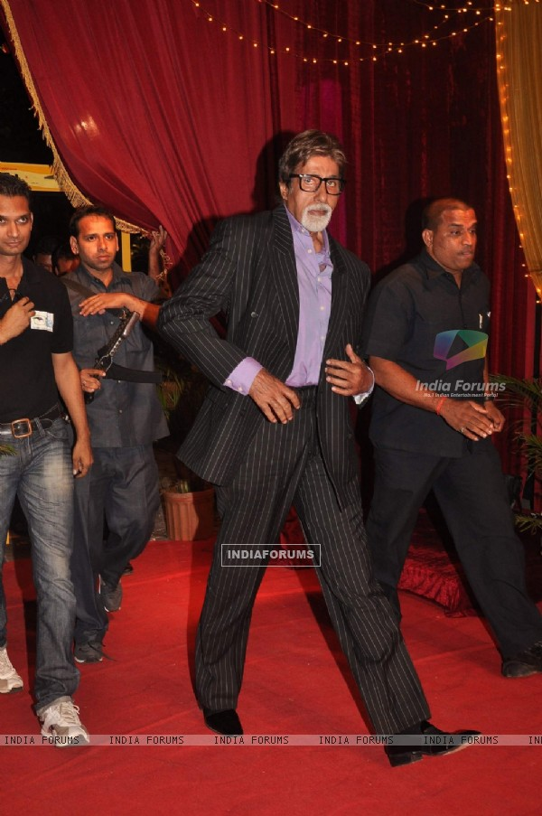 Amitabh Bachchan at ITA Awards at Yashraj studios in Mumbai