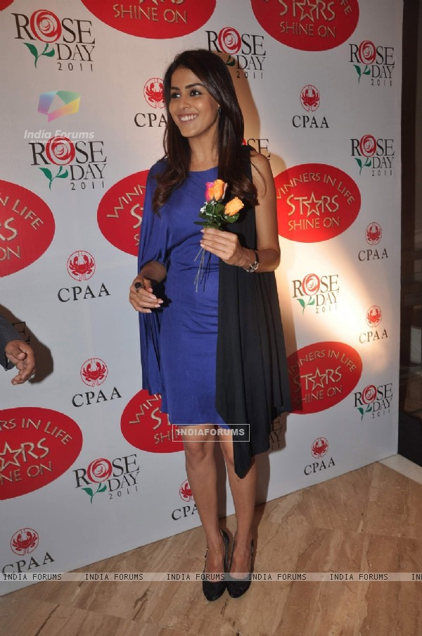 Genelia at CPAA Rose Day meet