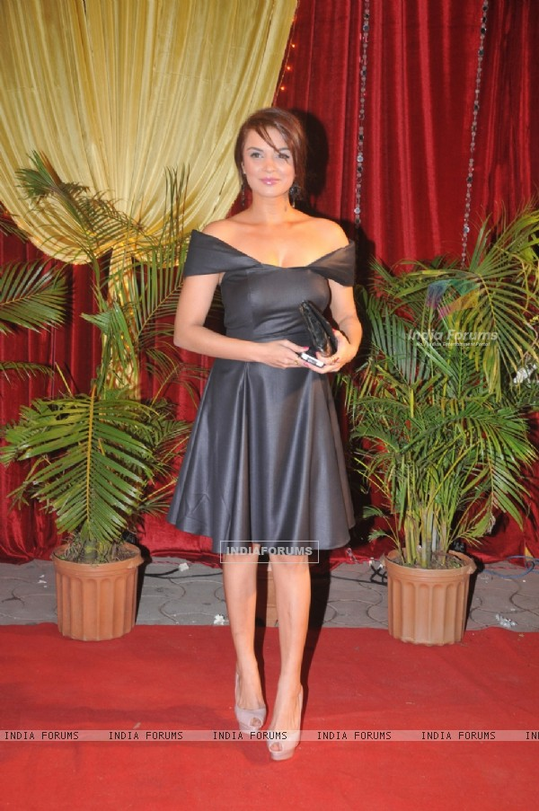 Aashka Goradia at ITA Awards at Yashraj studios in Mumbai