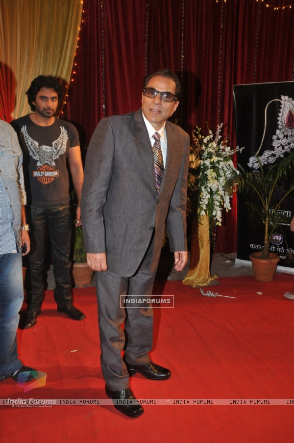 Dharmendra at ITA Awards at Yashraj studios in Mumbai