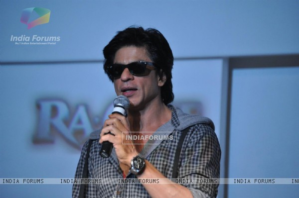 Shah Rukh Khan launched custom built movie channel on YouTube for his upcoming film 'Ra.One'