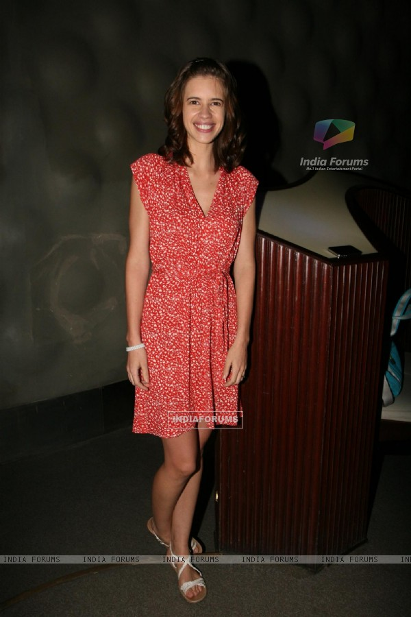 Kalki Koechlin at Mikey Mc Cleary's THE BARTENDER music album launch at Blue Frog