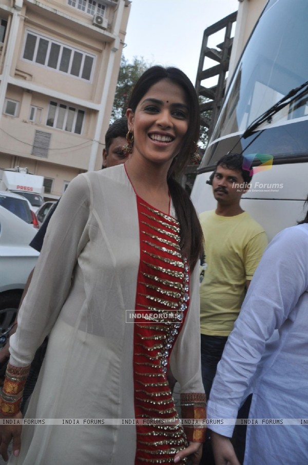 Genelia Dsouza during the promotion of their film 'Force' in Mumbai (161268)