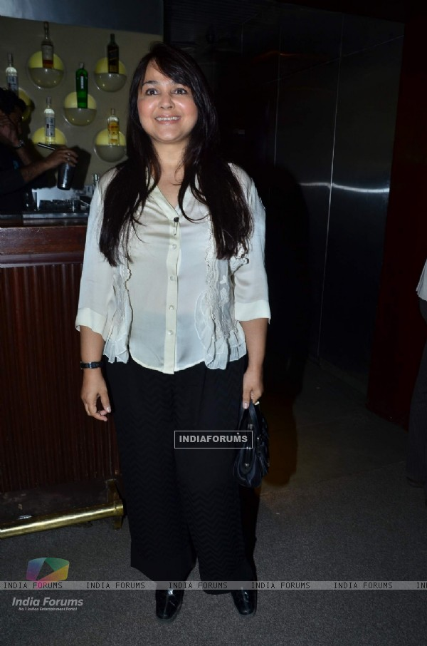 Alisha Chinai at The Bartender album launch by Sony Music at Blue Frog