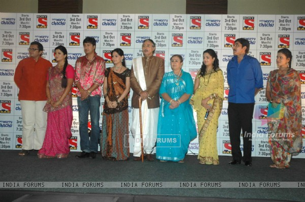 SAB TV launch 'Don't Worry Chachu' at Novotel. .
