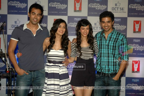 Cast at Mujhse Fraaandship Karoge music showcase at Yashraj Studios (161396)