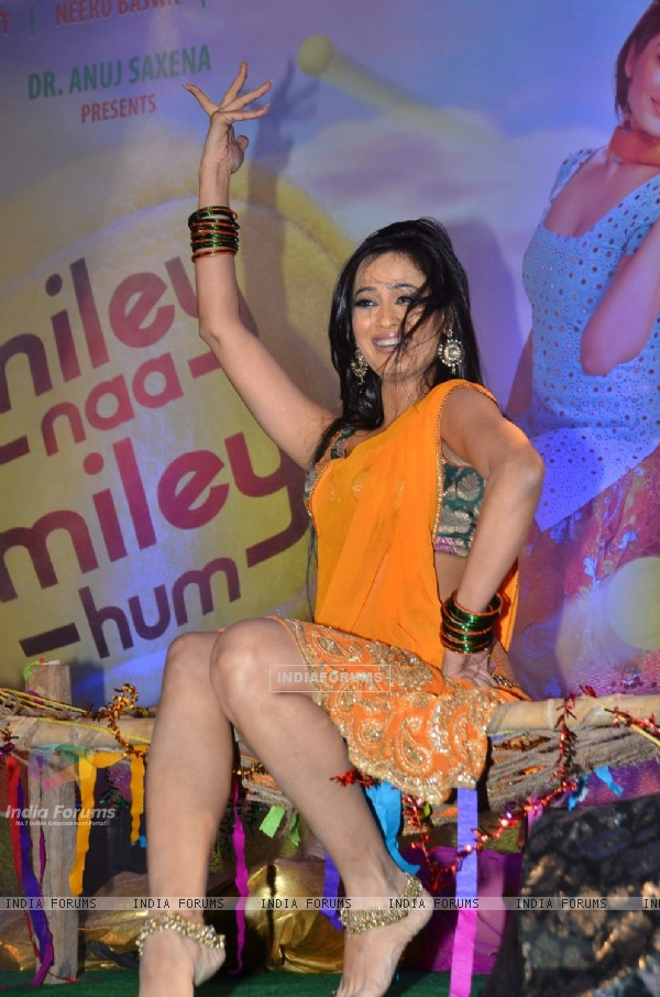 Shweta Tiwari at 'Miley Naa Miley Hum' music launch at Novotel