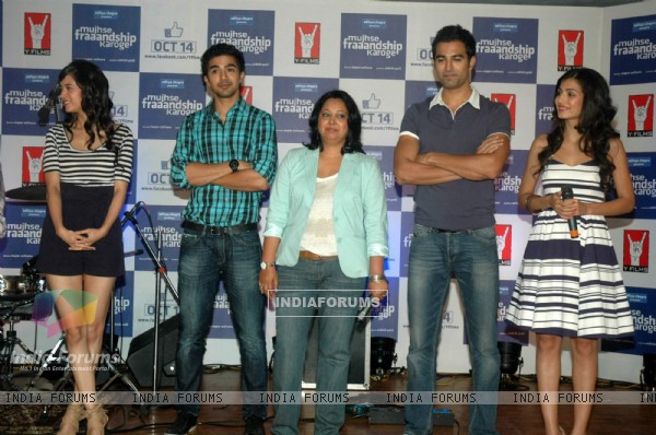 Cast and Crew at Mujhse Fraaandship Karoge music showcase at Yashraj Studios (161426)