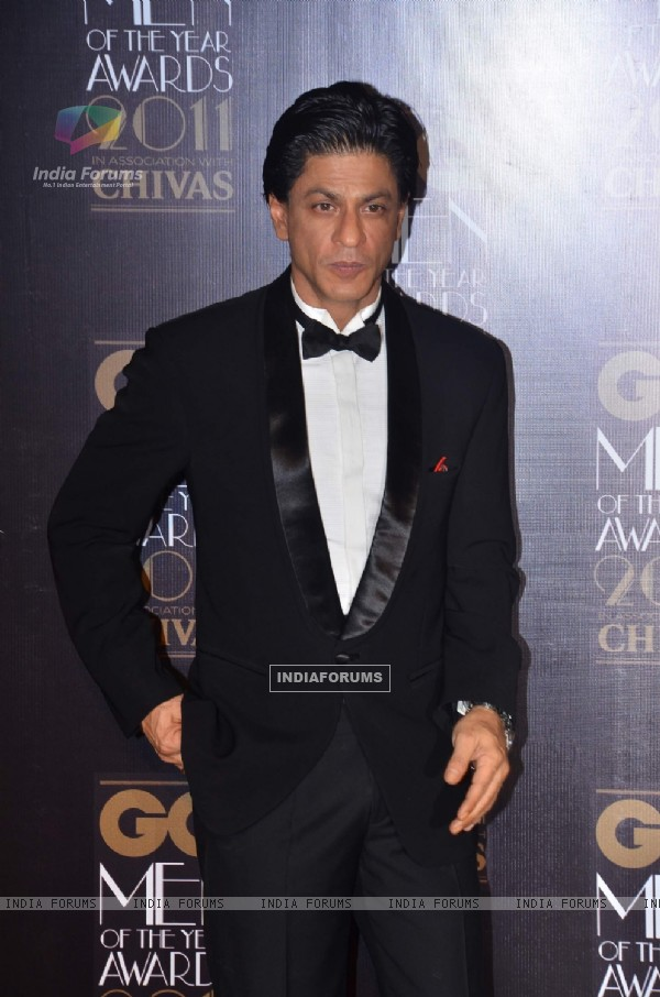 SRK at GQ celebrates its 3rd anniversary in India with the Men of the Year Awards