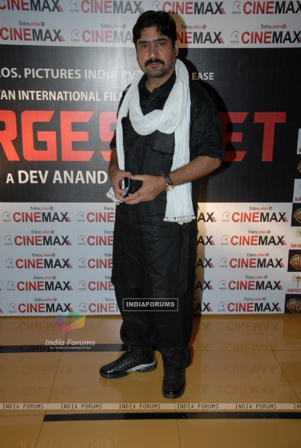 Yashpal Sharma at Premiere of film 'Chargesheet' in Cinemax