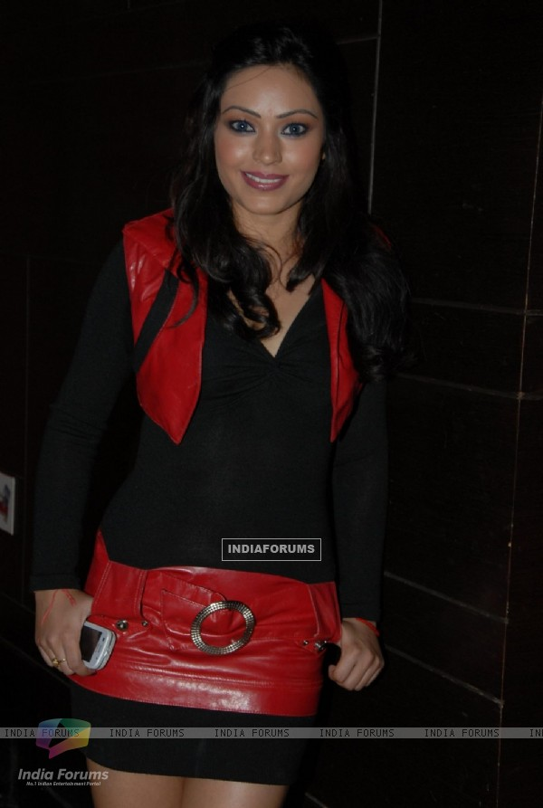 Devshi Khanduri at Premiere of film 'Chargesheet'