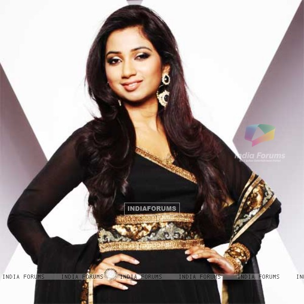 Shreya Ghoshal for the show X-Factor