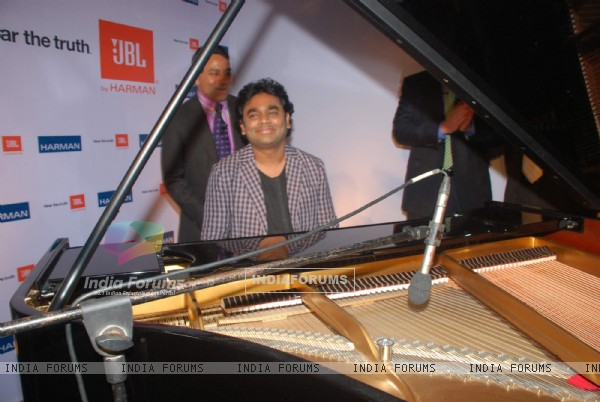 A.R. Rahman promotes JBL Harman in ITC Parel