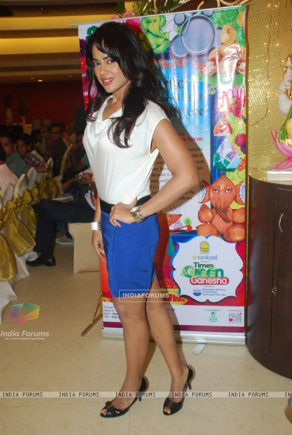 Sameera Reddy at Times Ganesha Awards ceremony at Prabhadevi. .